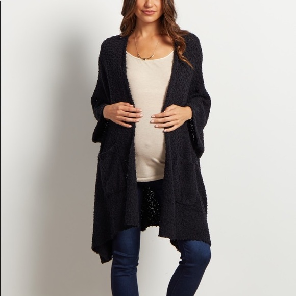3d3c2effdc7d4 Oversized pink blush maternity cardigan. M_5a7a416a46aa7c469ef40960